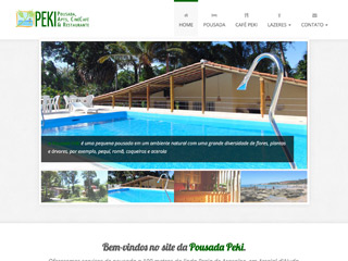 panfleto Peki - Cinécafé e Restaurante